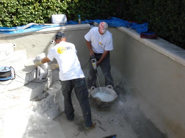Impermeabilizacion for Construccion de piscinas pequenas